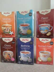 Win a box of Yogi Tea.